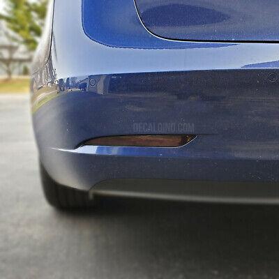 Fits 2016 3 Series Smoke Side 328 BMW F30 Reflector Overlay Tint Decal Kit