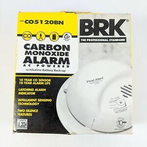 First Alert Dual-Power Carbon Monoxide Detector Alarm