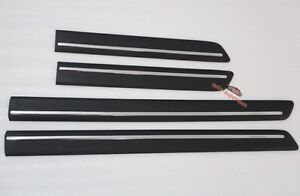 black chrome body door side molding trim sill land rover discovery 3 4 lr3 lr4 ebay