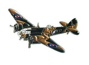 NEW-WW2-Bristol-Blenheim-RAF-Aircraft-Military-Metal-Enaml-Badge-Royal-Air-Force