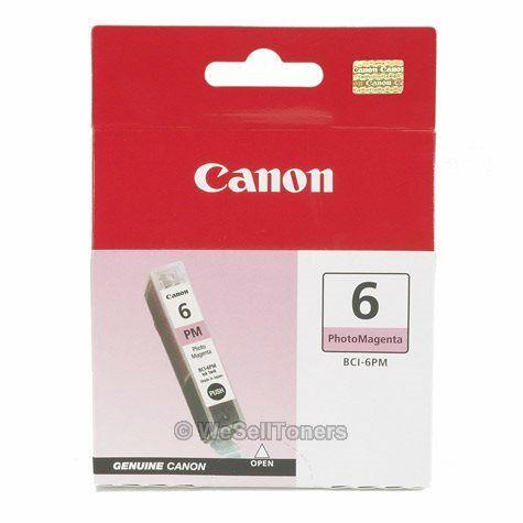 Canon BCI-6 Photo Magenta Ink Cartridge 4710A003 Genuine New