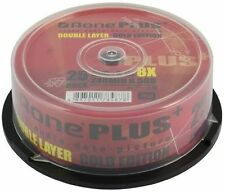 50 x Aone Gold Edition Dual Layer DVD+R DL   8.5GB - 8x recording speed