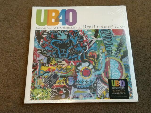 Ub40 a Real Labour of Love 2 X 180gsm Colour Vinyl LP Plus