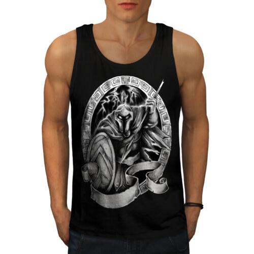 Movie Active Sports Shirt Wellcoda Spartan Warrior Mens Tank Top