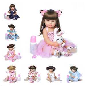22-Soft-Full-Body-Silicone-Girl-Doll-Reborn-Toddler-Girl-Princess-Babies-Dolls