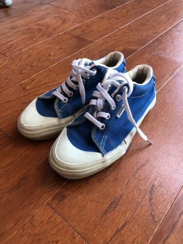 Vintage Made In USA Vans 80s 90s Size 3