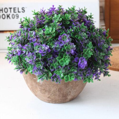 Garden Artificial Topiary Tree Ball Plant Pot Home Decor Outdoor Indoor NP2