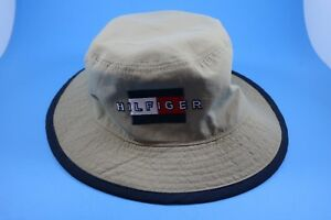 0a1379fb Image is loading Vintage-Tommy-Hilfiger-Bucket-Hat-L-XL