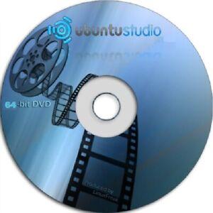 Latest New UBUNTU Studio 19 04 - 64 Bit DVD Bootable OS Linux