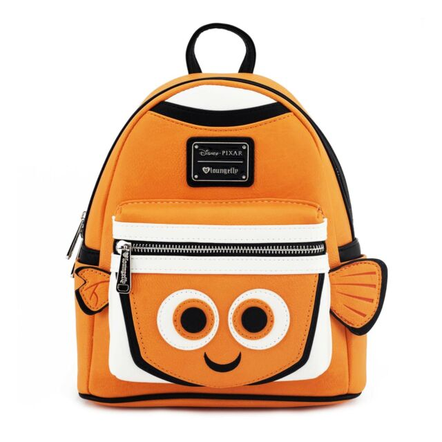 12d3bb9467f Disney Pixar Finding Nemo Loungefly Mini Backpack Faux Leather for ...