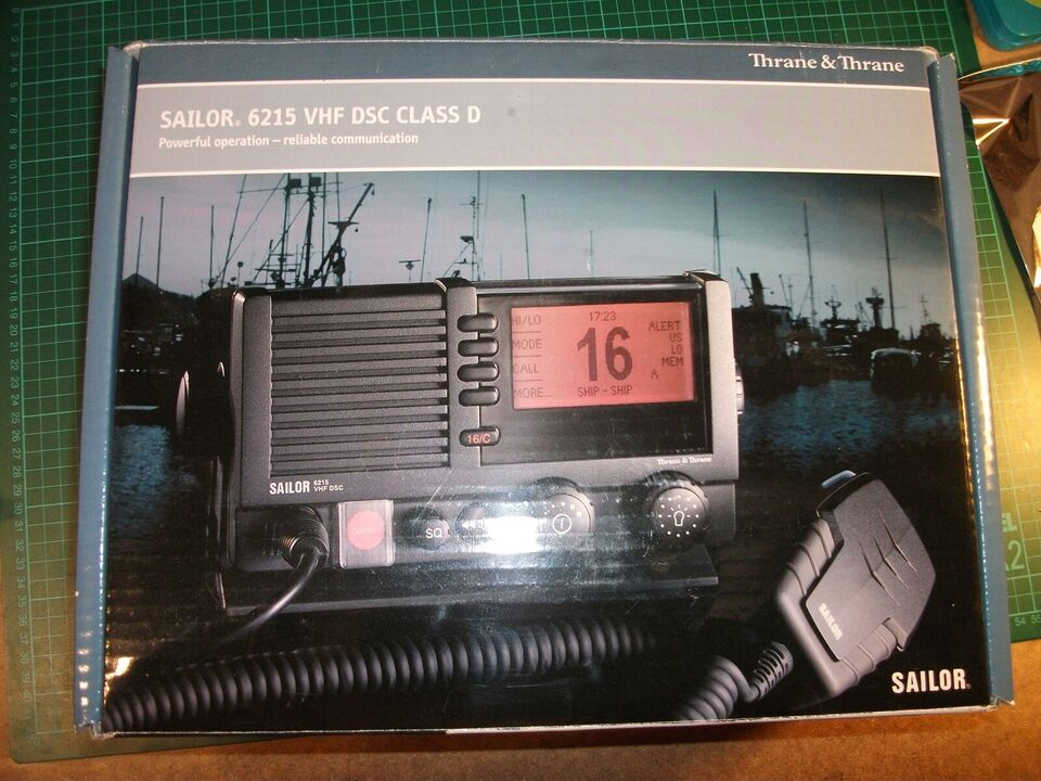 VHF Radio, Sailor, 6215