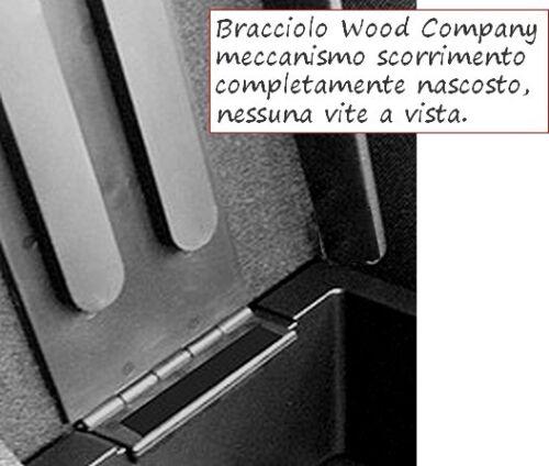 VENDITA PROFESSIONALE SOLO 4 PEZZI per DISCOVERY SPORT REGOLABILE Bracciolo