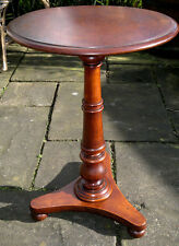 Antique Wine Table Victorian Mahogany c1850 Lamp-Side-Occasional Table