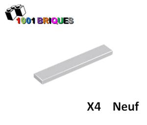 Lego 6636 x4 Tile 1 x 6 Light Bluish Grey