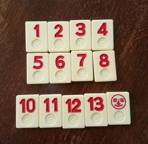 Rummikub replacement tile red you choose one
