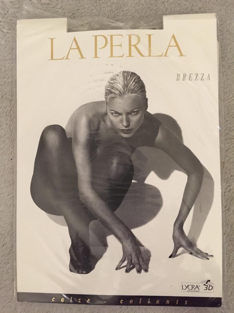 LA LA LA PERLA PANTYHOSE BREZZA 'PARIGI' SIZE 1 f957ba