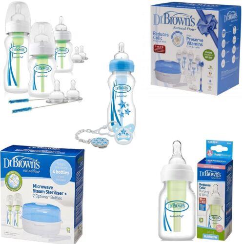 Dr Brown/'s Esterilizador Vapor de flujo natural Preemie botellas Deluxe Kit de arranque