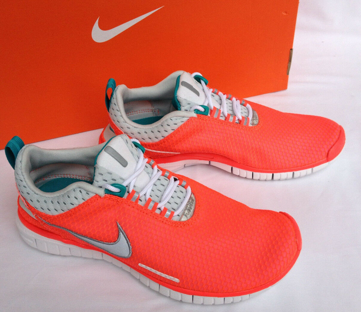 new Nike Free OG Breeze 644450-600 Lazer Crimson Marathon Running Shoes Womens 9