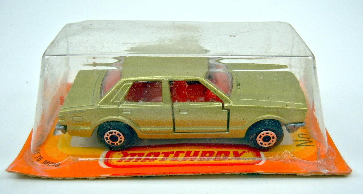 MATCHBOX sf Nº 55d Ford Cortina vertmetallic en Français BOX