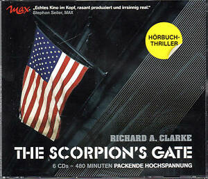 The-Scorpions-Gate-Richard-A-Clarke-6-CDs-Hoerbuch-NEU