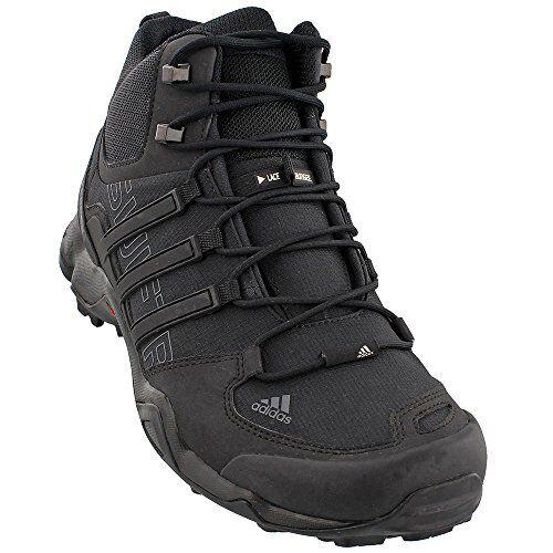Adidas adidas outdoor Terrex Swift R Mid Hiking Boot - Mens Black/Black/Dark