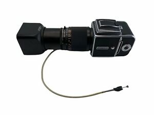 Hasselblad 500CM Camera With Carl Zeiss Sonnar 5.6/250mm Lens Free Shipping