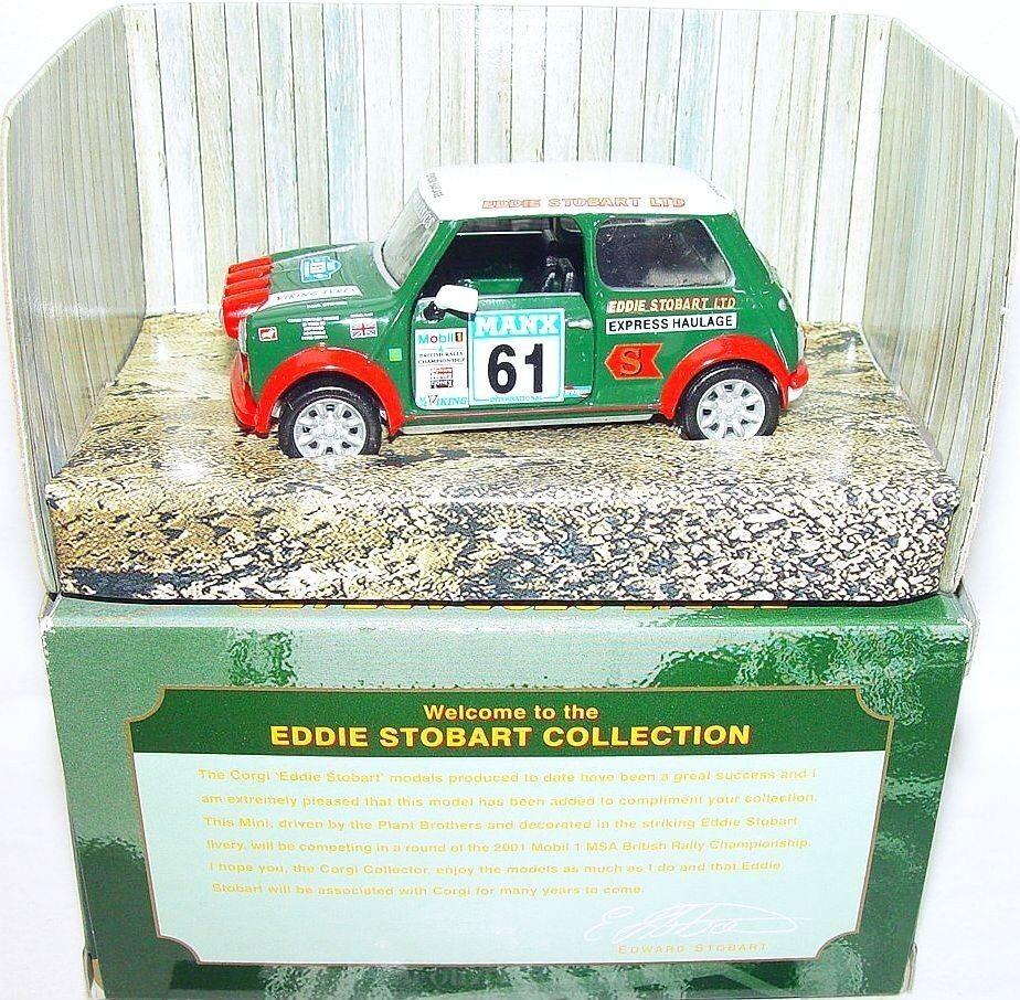 Corgi Juguetes 1 36 Morris Mini Cooper  Eddie Stobart Ltd  Coche Modelo MIB`01 Rara