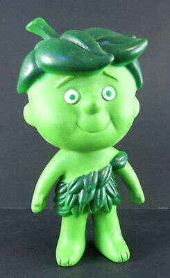 """Vintage~JOLLY GREEN GIANT~13/"""" Little /""""Speakin/' Sprout Plush Toy Doll Figure~NEW"""