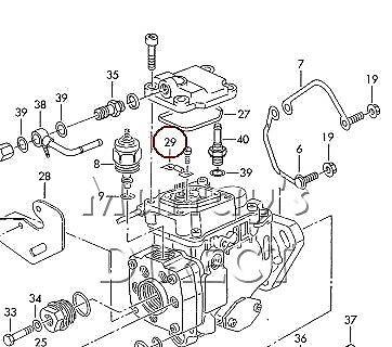 BOSCH OEM Fuel Temperature Sensor in Diesel Pump VW Audi SEAT Skoda 028906040C