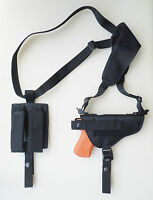 Gun Shoulder Holster For S&w Sw9ve, Sw40ve Dbl Pouch
