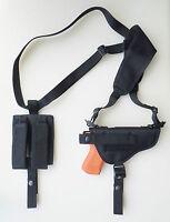Gun Shoulder Holster For S&w Sw9ve, Sw40ve Dbl Pouch