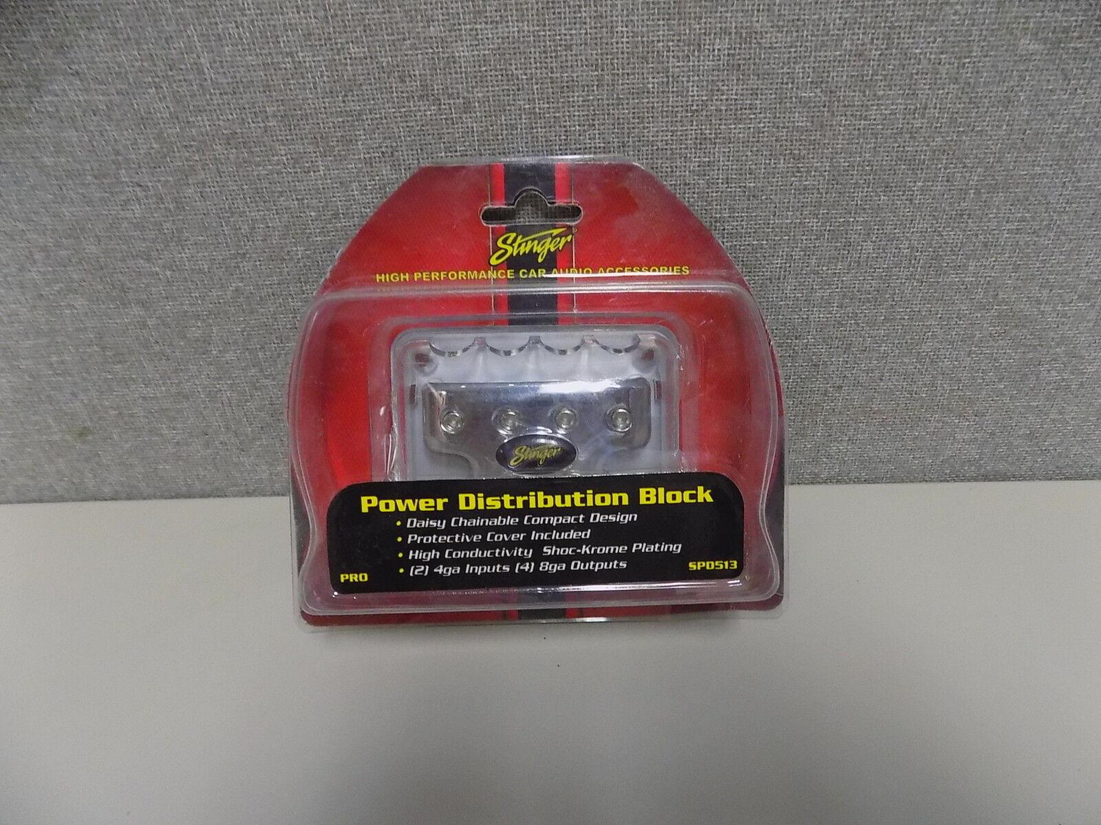 Stinger SPD513 Non Fused Power Distribution Block 2 4ga-IN /& 4 8ga//OUT