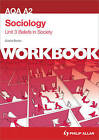 AQA A2 Sociology Unit 3 Workbook: Beliefs in Society by David Bown (Paperback, 2012)