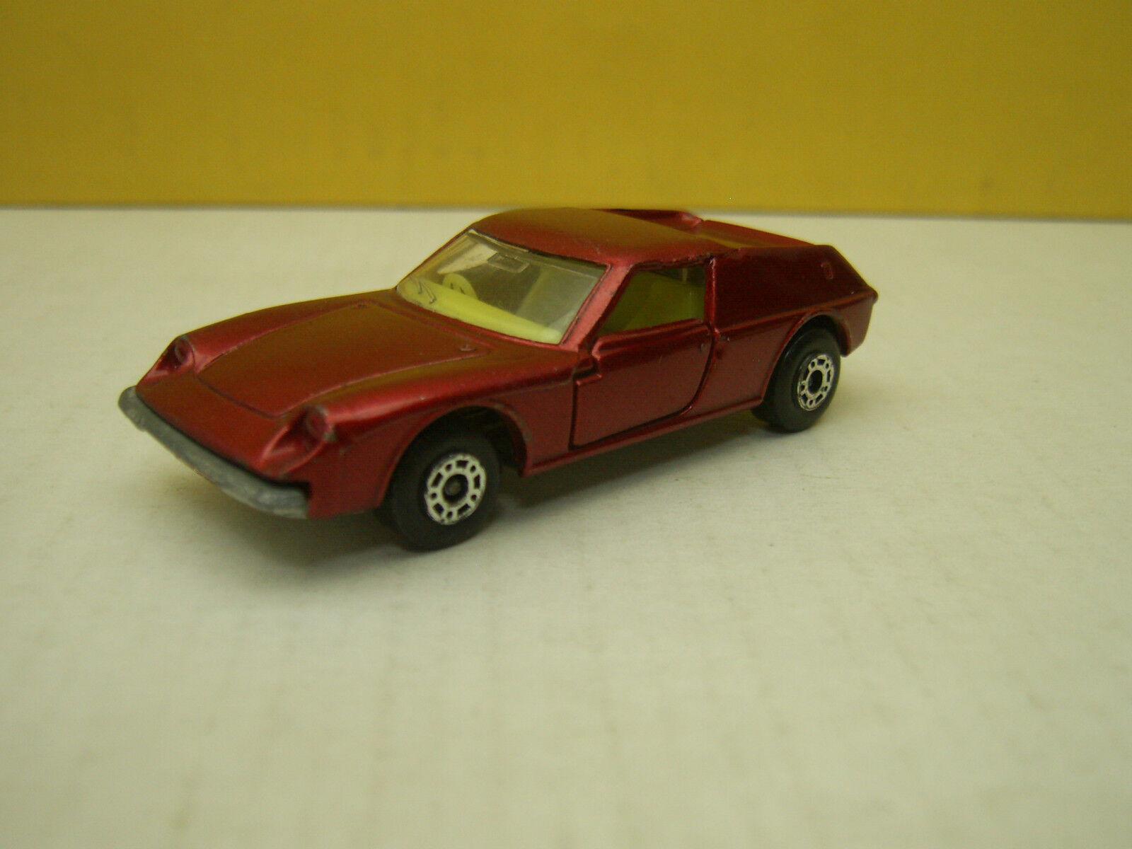 hasta un 50% de descuento Búlgaro Matchbox súperfast Lotus Europa Europa Europa № 5 Rojo Metálico 1969  barato y de moda