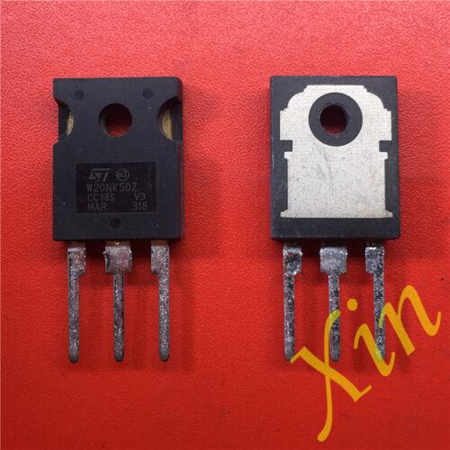 5PCS W20NK50Z New Best Offer MOSFET N-CH 500V 17A TO-247 STW20NK50Z