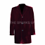 BIG SALE 12th Doctor Who Coat of Peter Capaldi Maroon Color Cosplay Costume