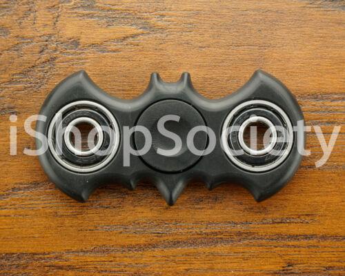 USA BLACK Bat Fidget Spinner Tri-Spinner EDC Figet Hand Desk Focus Toy ADHD