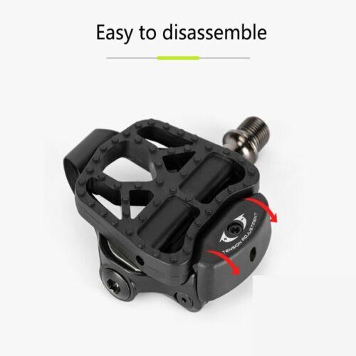 Promend Bike Clipless Platform Adapter Pedal Convert for Shimano SPD KEO Look