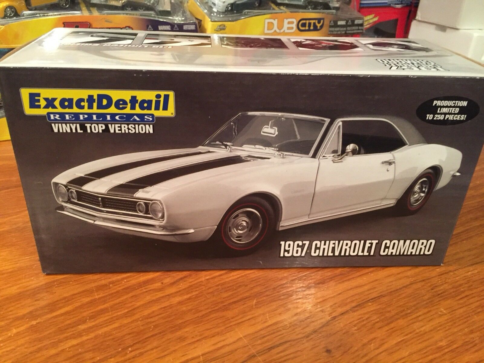Exact Detail 1:18 1967 Chevrolet Camaro 1 Of 250 Item WCC223A