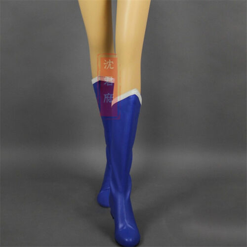 Sailor Moon Femmes Cosplay Chaussures Custome personnalisé à Talon Haut Bottes Filles Nouveau