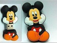 8GB Cartoon Pen drive Mickey Mouse USB Flash drive memory U stick