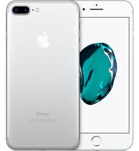 APPLE IPHONE 7 Plus 32 GB Silver Argento Grado A++ Come Nuovo Usato
