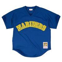 Ken Griffey Jr. 1991 Authentic Mesh Bp Jersey Seattle Mariners L