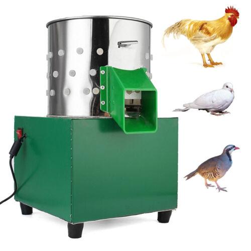 Small Chicken Dove Feather Plucking Machine Poultry Plucker Birds Depilator 220V