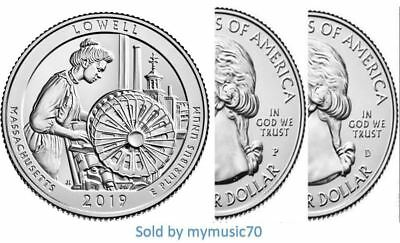 2019-W 25C One Each-Lowell National Historic Park Massachusetts with West Point