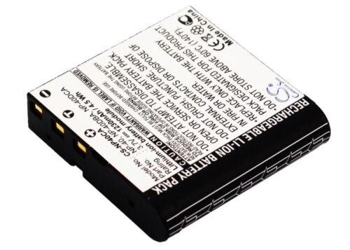 Nueva batería para Digilife ddh-h3 ddh-h6 ddv-5100hd cnp-40 Li-ion Reino Unido Stock