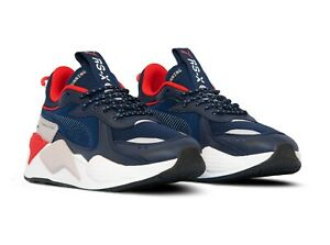 Details about BRAND NEW MEN'S PUMA RS-X CORE BLUE/RED 369666 05 SHOE