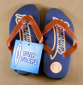 Empire-Boys-Flip-Flops-Slippers-Sandals-Shoes-New-With-Tags-Size-S-10-11