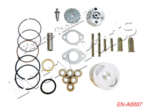 Engine Rebuild Kit Cylinder Engine Head Scooter for GY6 125 150cc 157QMJ Chinese