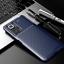 miniatura 9 - COVER per Xiaomi Redmi Note 10 / Pro CUSTODIA CARBONIO SLIM + VETRO TEMPERATO 9H
